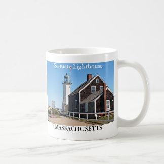 Faro de Scituate taza de Massachusetts