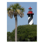 Faro de St Augustine la Florida Postales