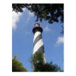 Faro de St Augustine, St Augustine, la Florida 1 Tarjetas Postales