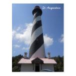 Faro de St Augustine, St Augustine la Florida 2 Postales
