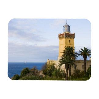 Faro de Tánger Marruecos en el casquillo Spartel Iman Rectangular