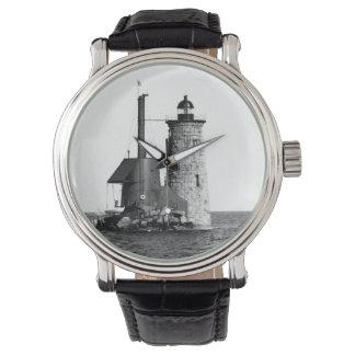 Faro de Whaleback Relojes De Pulsera
