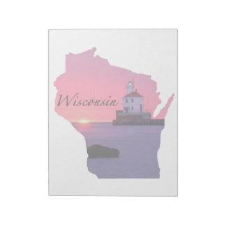Faro de Wisconsin Bloc De Notas