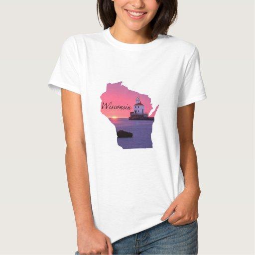 Faro de Wisconsin T-shirts