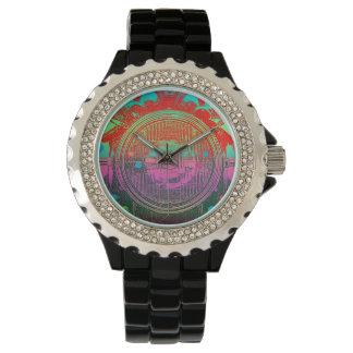 Faro del art déco del vintage para hombre relojes