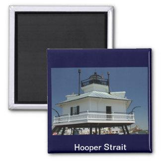 Faro del estrecho de Hooper Imán Para Frigorifico