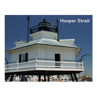 Faro del estrecho de Hooper Postales