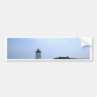 Faro del extremo de maderas - Provincetown, mA Pegatina Para Auto