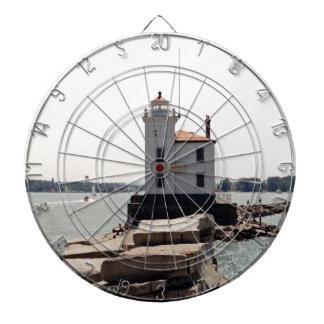 Faro del lago Erie Tablero De Dardos