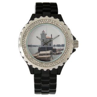 Faro del lago Erie Reloj De Mano