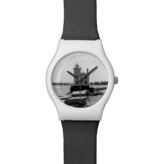 Faro del lago Erie Relojes