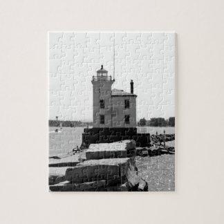 Faro del lago Erie Rompecabezas Con Fotos