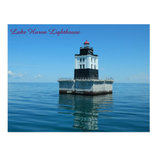 Faro del lago Hurón - filón del Poe Postal