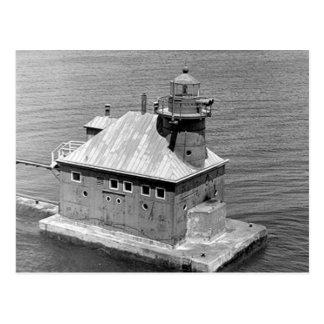 Faro del norte de Pierhead del canal de la bahía Postales