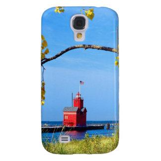 Faro del puerto de Holanda Funda Para Samsung Galaxy S4