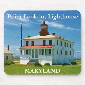 Faro del puesto de observación del punto, Maryland Alfombrilla De Ratones