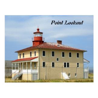 Faro del puesto de observación del punto postales