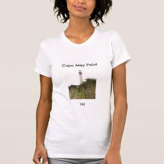 Faro del punto de Cape May Camisas
