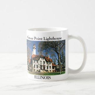 Faro del punto de Grosse, taza de Illinois