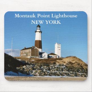 Faro del punto de Montauk Nueva York Mousepad Tapete De Ratones