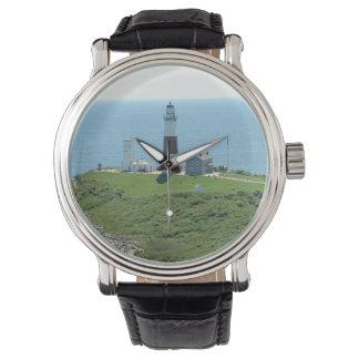 Faro del punto de Montauk Reloj