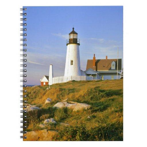 Faro del punto de Pemaquid Cuaderno