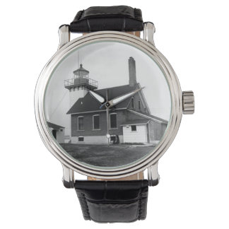 Faro del punto de Sherwood Reloj De Mano