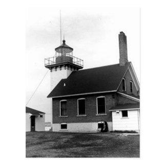 Faro del punto de Sherwood Tarjetas Postales
