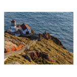 Faro en la costa del nacional de Reyes del punto Tarjetas Postales
