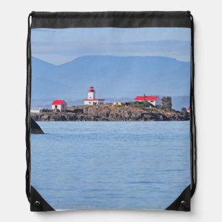 Faro en la feliz isla mochilas