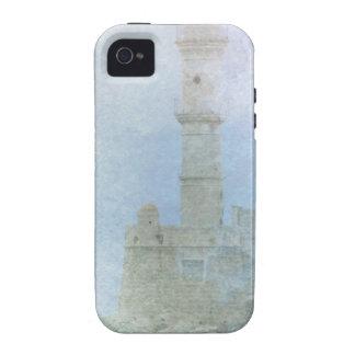 Faro en la niebla Case-Mate iPhone 4 funda