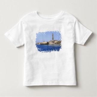Faro en las islas de Brother, Mar Rojo, Egipto Playera De Bebé