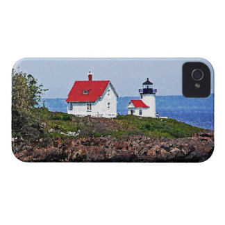 Faro en Maine Funda Para iPhone 4