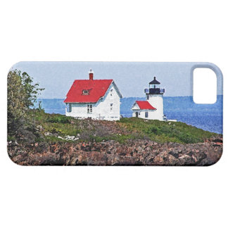 Faro en Maine Funda Para iPhone SE/5/5s