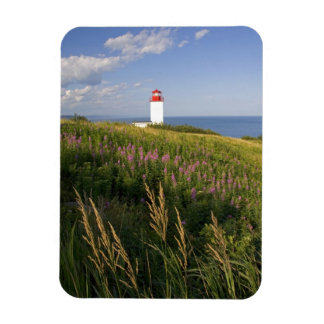 Faro en St Martins, Nuevo Brunswick, 2 Imán Rectangular