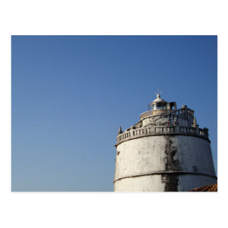 Faro Goa la India de Aguada del fuerte Postales