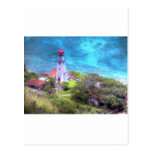 Faro hawaiano postales