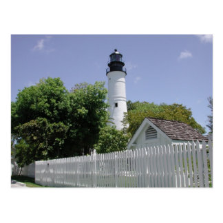 Faro histórico de Key West la Florida Tarjetas Postales