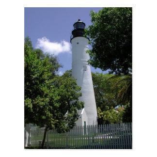 Faro histórico de Key West Tarjeta Postal