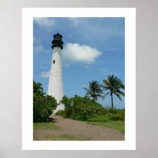 Faro II de la Florida del cabo Póster