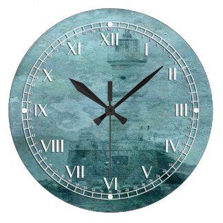 Faro Impasto Reloj Redondo Grande