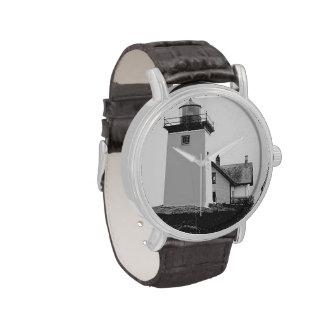 Faro indio de la isla relojes