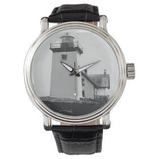 Faro indio de la isla reloj de mano