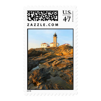 Faro Jamestown Rhode Island de Beavertail Timbre Postal