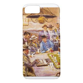 Faro Layout in Mint Saloon_Great Work of Art iPhone 7 Case