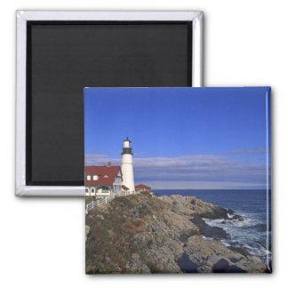 Faro ligero principal Maine de Portland Iman De Nevera