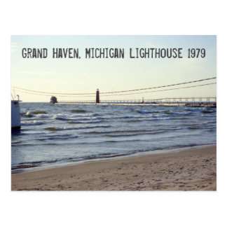 Faro magnífico 1979, Michigan retro del asilo Postales