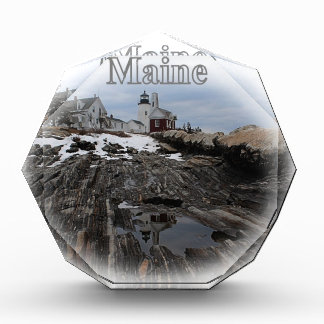 Faro Maine del punto de Pemaquid