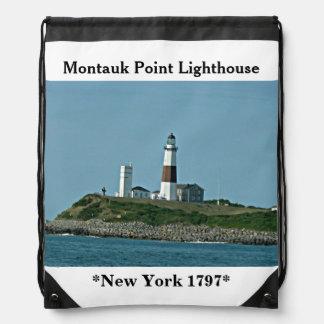 Faro Nueva York del punto de Montuak Mochilas