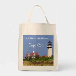 Faro orgánico Cape Cod de la montaña del tote del Bolsa Tela Para La Compra
